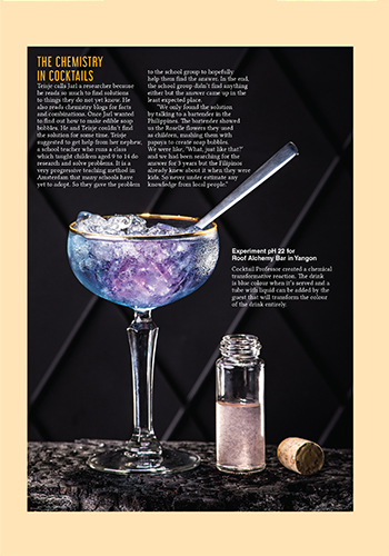 Thirst Magazine Issue 1 Cocktail Professor Snippet