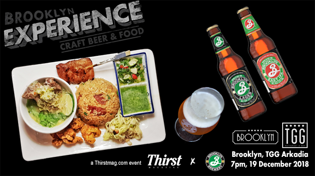 Brooklyn Experience on draught | Drinks | Thirst Magazine