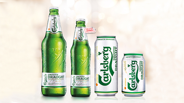 Carlsberg Smooth Draught now available in single-serve ...