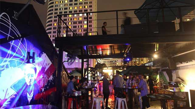 Changkat Bukit Bintang Tetto Lounge Rooftop Bar KL