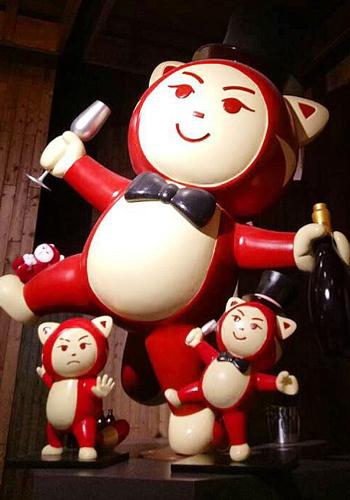 Xiao Hong - RedTail Genting's mascot