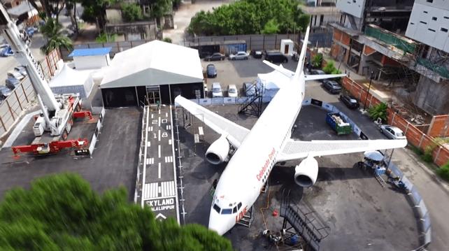 Plane in the City Bukit Bintang