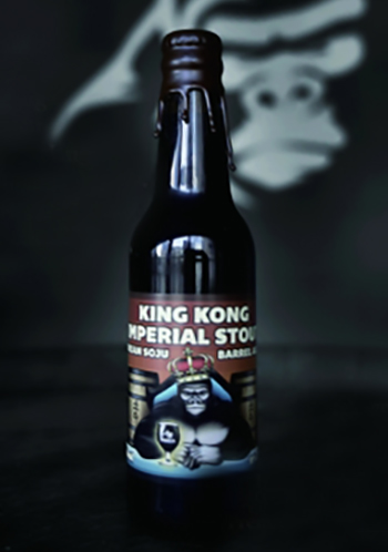 King Kong Brewing Soju Imperial Stout