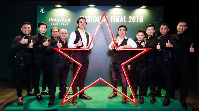 Heineken Star Pour, National Finals 2018