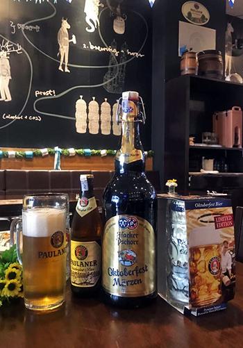 Brotzeit official Oktoberfest bier