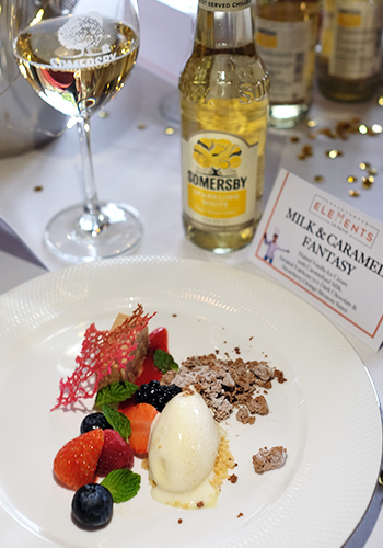Somersby Sparkling White x Le Petit Chef dessert