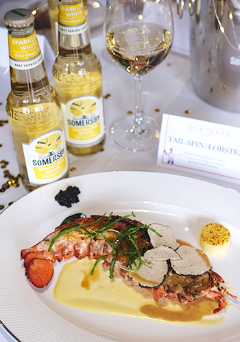 Somersby sparkling White x Le Petit Chef Tai Spin