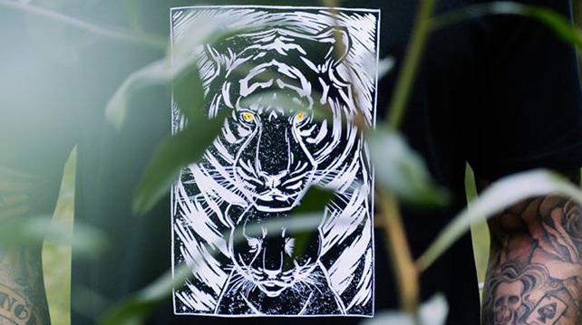Tiger Beer x Pestle & Mortar, Maximus tee