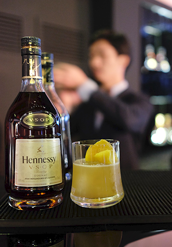 Horse's Kick Hennessy Cocktail