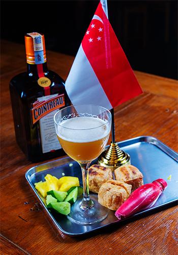 Sim Sze Wei's winning cocktail for Night Market