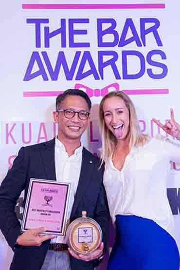Best Hospitality Ambassador 2018 Andrew Tan