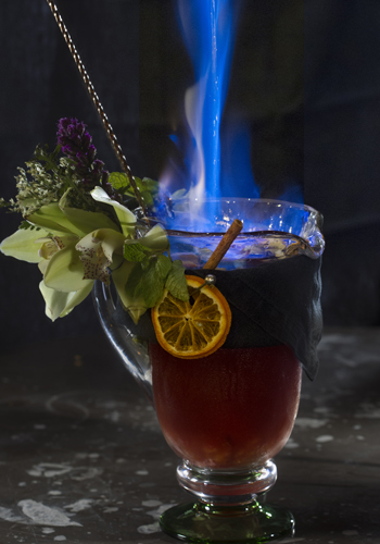 La Fiesta Genting, Flaming Sangria