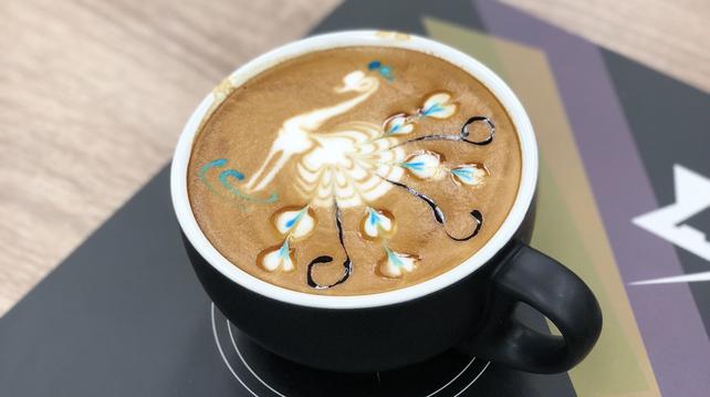 Monin L'Artiste, Peacock