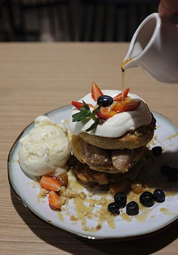 Kohi Yatta Pancakes