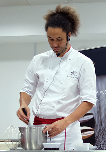 Valrhona Chef Brice Konan Ferrand