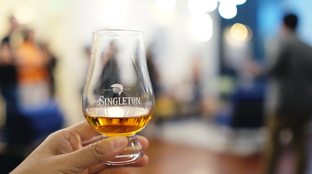 Singleton x The Colony whisky tasting session