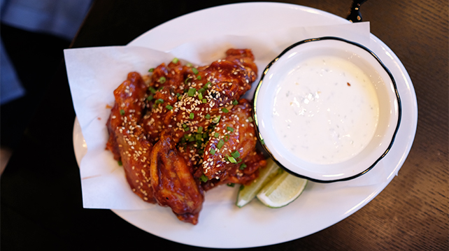 Black Tap Buffalo Wings