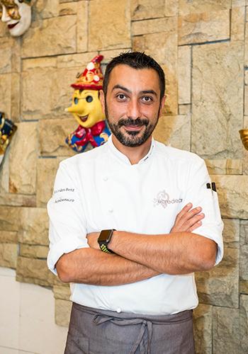 Chef Igor Macchia