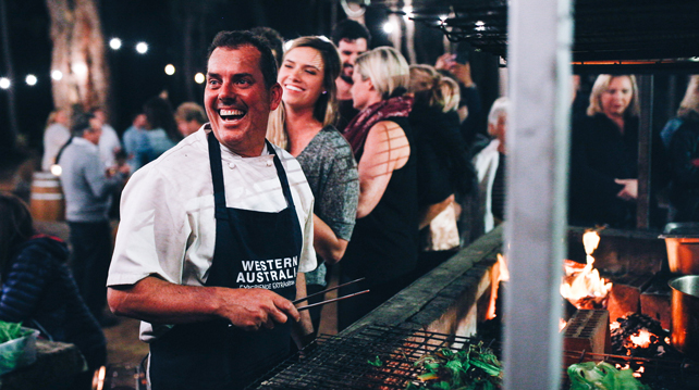 Margaret River on Tour to Singapore, Chef Tony Howell